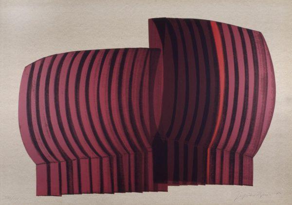 Composizione rossa, di Jagoda Buić-0