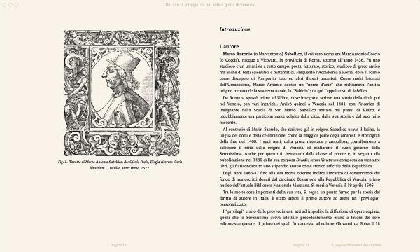 Del sito di Vinegia, la più antica guida di Venezia. Di Marco Antonio Sabellico. — E-book-202
