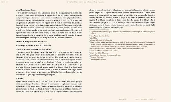 Del sito di Vinegia, la più antica guida di Venezia. Di Marco Antonio Sabellico. — Libro + E-book-214