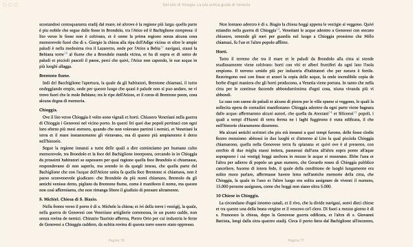 Del sito di Vinegia, la più antica guida di Venezia. Di Marco Antonio Sabellico. — Libro + E-book-216