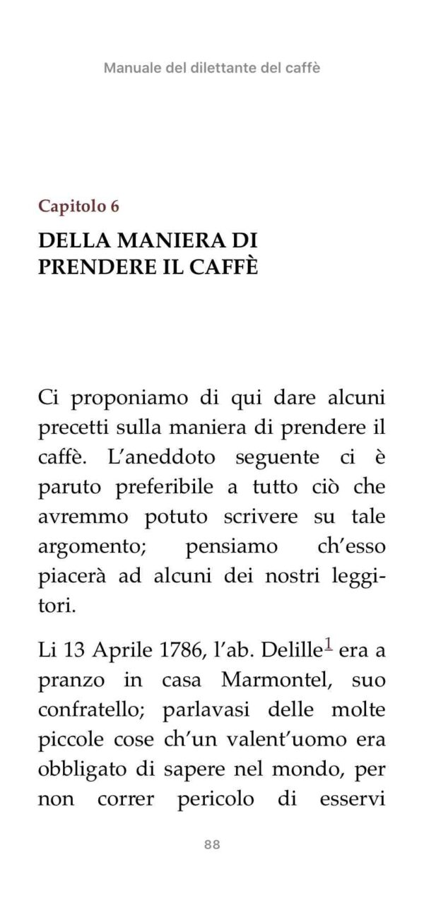 Pagina interna in Apple Books su mobile